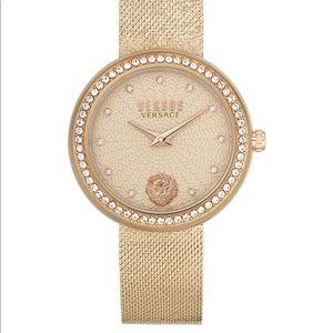 NWB Versace Versus Lea Bracelet Gold Watch